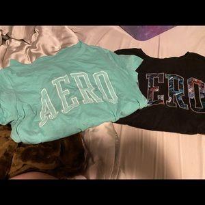 2 Aeropostale shirts